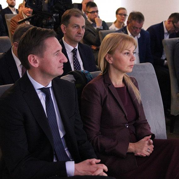 Była minister infrastruktury i rozwoju, Elżbieta Bieńkowska odwiedziła Pomorze Zachodnie