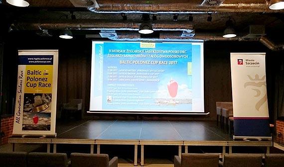 II Morskie Żeglarskie Mistrzostwa Polski Samotników i Załóg Dwuosobowych ORC Baltic Polonez Cup Race 2017 - rozpoczęte podczas Festiwalu Pyromagic w Szczecinie