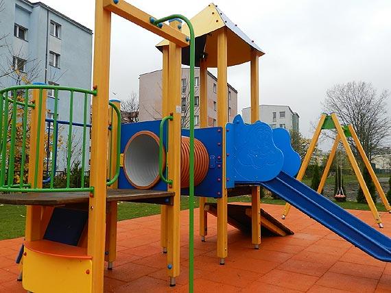 Po wakacjach. Nowy plac zabaw przy Przedszkolu Miejskim nr 5