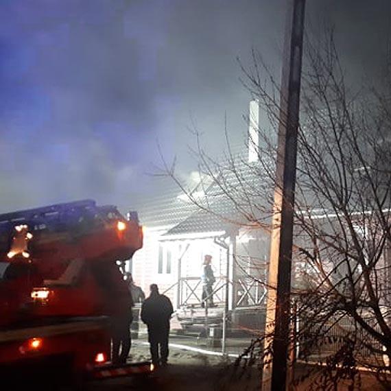 Szczegóły na temat pożaru Tawerny w Łunowie
