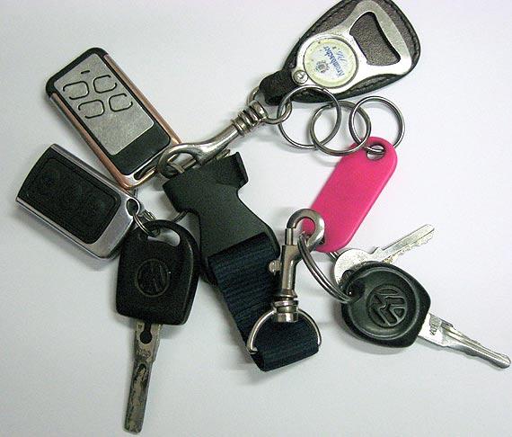 Czyje to klucze?