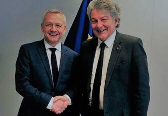 Cyfrowa Europa – szef MC w Brukseli